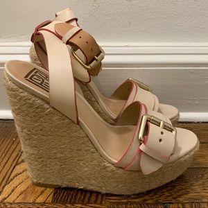 Pour la Victoire platform wedge sandals